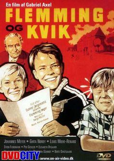 Flemming og Kvik (1960) Flemming og Kvik er lidt af en prøvelse i timerne, det må jo gå galt.