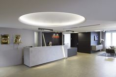 Interiørarkitekt - AS Scenario interiørarkitekter MNIL. Skuld head office Oslo