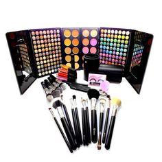 make-up makeup palette makeup brushes makeup bag party make up