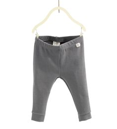 Ribbestrikket leggings i økologisk bomull-BUKSER-BABY JENTE | 3 måneder - 4 år-BARN-SALG | ZARA Norge