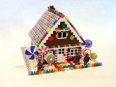 lyninsquam's lego Gingerbread House, via Flickr.