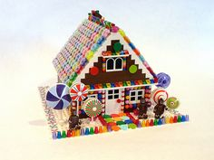You can make this Lego Gingerbread House instead of making a real one, for all you Lego fans out there.