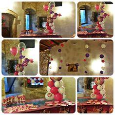 Violetta balloons