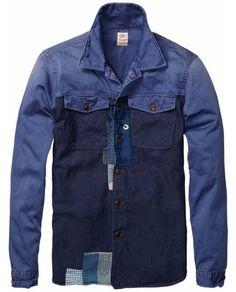 Mix And Match Shirt > Mens Clothing > Shirts at Scotch & Soda - Official Scotch & Soda Online Fashion & Apparel Shops