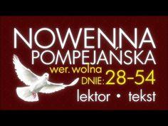 Nowenna Pompejańska - cz. DZIĘKCZYNNA | z lektorem - YouTube Prayers, Calm, God, Youtube, Chicano, Madonna, Sport, Biblia, Catholic