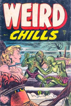 Comic Book Cover For Weird Chills v1 #3