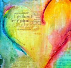 A variety of Bible verse paintings found in the gallery done in acrylics and inks, incorporate scripture to feed the soul and nurture the heart. Description from christianartforsale.com. I searched for this on bing.com/images