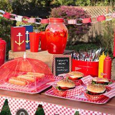 Summer barbecue, bbq party, backyard patio, backyard engagement parties, co Bbq Party, Backyard Barbeque Party, Grill Party, Summer Barbecue, Backyard Patio, Backyard Ideas, Edamame, Picnic Birthday, 5th Birthday