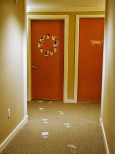Little Hiccups: Santa's footprints lead right to our door