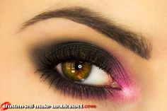 """Rock Valentines"" by Marta G. using the Makeup Geek eyeshadows Corrupt, Shimma Shimma, and Simply Marlena."
