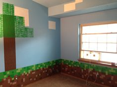 Minecraft Room 22 step by step room guide on their sons minecraft themed room:) boys bedroom Ikea Dekor, Minecraft Crafts, Minecraft World, Minecraft Party, Minecraft Classroom, Minecraft Room Decor, Minecraft Cake, Minecraft Skins, Minecraft Buildings