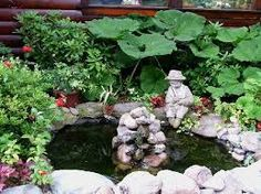 Image result for small fish pond ideas