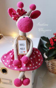 PDF Жирафка. Бесплатный мастер-класс, схема и описание для вязания игрушки амигуруми крючком. Вяжем игрушки своими руками! FREE amigurumi pattern. #амигуруми #amigurumi #схема #описание #мк #pattern #вязание #crochet #knitting #toy #handmade #поделки #pdf #рукоделие #жираф #жирафик #giraffe #girafe #jirafa #giraffa