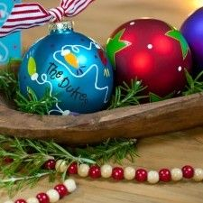 Coton Colors | 2012 Christmas Ornaments | Happy Everything | Handcrafted Pottery