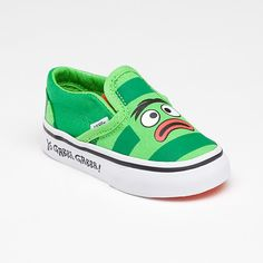 brobee vans!  emerson must have these.  ;)  -kc