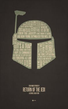 Typographic Movie Posters
