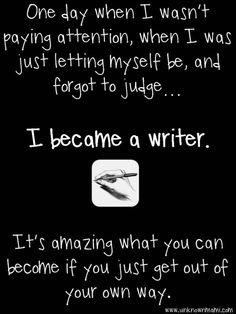 How I Became a Writer This.