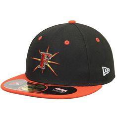 premium selection 3e989 e50cf Frederick Keys New Era Authentic Home 59FIFTY Fitted Hat - Black Orange