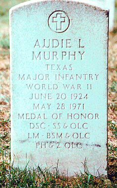 Audie Murphy  Arlington National Cemetery