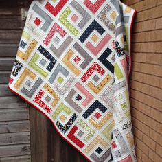 Marcie's Maze pdf Quilt Pattern; makes multiple sizes from baby quilt up through king size