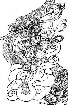 MONKEY KING by MRDEVUL.deviantart.com