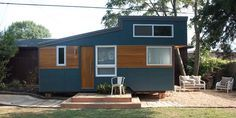A Pennsylvania couple has launched Liberation Tiny Homes to sell replicas of their tiny dream home. If you only want the shell of the home, it'll cost you $11,500 (that includes the trailer, 2x4 framing, and metal roofing). But the complete package goes for a meatier $37,500 and comes with the cedar siding, laminate floors, birch plywood walls, kitchen and bathroom appliances, and more.