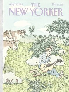 The New Yorker - Monday, August 13, 1984 - Issue # 3104 - Vol. 60 - N° 26 - Cover by : William Steig