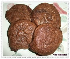 Easy, Delicious Chocolate Brownie Cookies Recipe - I'll be adding pecans or walnuts to these.