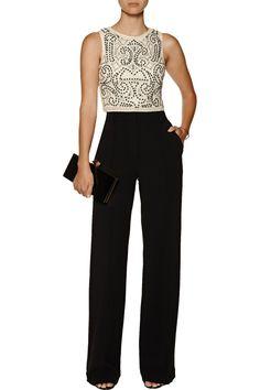 386f9bfd9cfe9 Alice + OliviaEzra embellished mesh-paneled silk-chiffon topback Discount  Designer Clothes, Designer