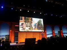Jennifer Bond @teambond I love the passion coming through from @cordym !!! She's rocking this #ISTE2016 keynote!