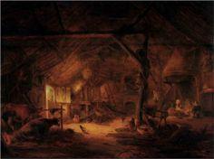 Barn+Interior+-+Isaac+van+Ostade
