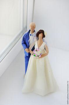 Купить Свадебная пара в стиле Тильда. - разноцветный, кукла ручной работы, кукла, кукла Тильда ♡