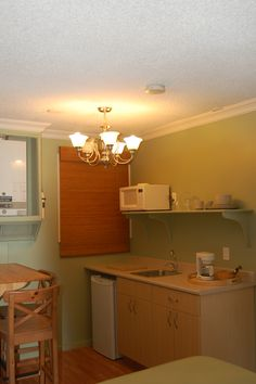 Honeymoon Cottage mini-kitchen