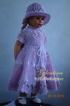 Комплект Цветочная феерия. Работа Валентины Литвиновой вязание и схемы вязания