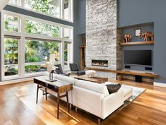 6 Startling Useful Tips: Small Living Room Remodel Square Feet living room remodel before and after columns.Living Room Remodel Ideas French Country living room remodel on a budget link.Living Room Remodel Before And After Dream Homes. Room Design, Interior Design, Living Room Colors, Contemporary Style Homes, Home, Floor Decor, Family Room, Great Rooms, Living Room Designs