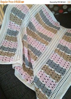 Hey, I found this really awesome Etsy listing at https://www.etsy.com/uk/listing/252389049/cotton-anniversary-crochet-blanket