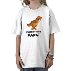 Prehistoric Papa! T-Shirt by Paul Stickland for DinosaurStore