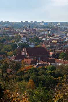 Vilnius, Lithuania in Autumn | Flickr - Photo Sharing!