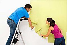 Como aplicar tinta e usar os utensilios Saiba como fazer mais coisas em http://www.comofazer.org/casa-e-jardim/bricolage/pintar-bricolage/como-aplicar-tinta-e-usar-os-utensilios/