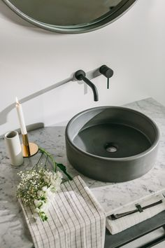 The Bowl Sink is effeminate and refined. Moulded curves and soft pastels fuse together as this modest sink heroes your bathroom. Bathroom Sink Bowls, Bathroom Sink Decor, Small Bathroom Sinks, Bowl Sink, Vanity Decor, Bathroom Colors, Bathroom Pink, White Bathrooms, Luxury Bathrooms