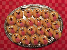 Traktatie • Donuts en zure matjes