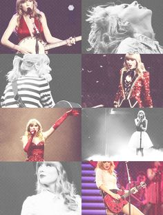 Red Tour<3 loved that black dress with the white skirt and the heart on the back!