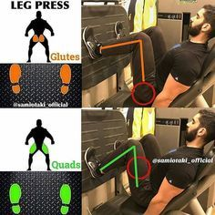 Do the exercises Legs press as shown in the picture for the most effective result! Do the exercises Legs press as shown in the picture for the most effective result! Leg Press Workout, Butt Workout, Gym Workouts, Workout Fitness, Forma Fitness, Kettlebell Training, Interval Training, Gym Tips, Weight Training