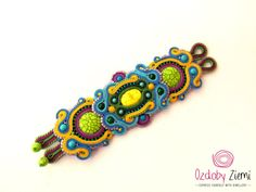 Soutache Bracelet Ocellet, will add glamour to any outfit, effective, ideal for…