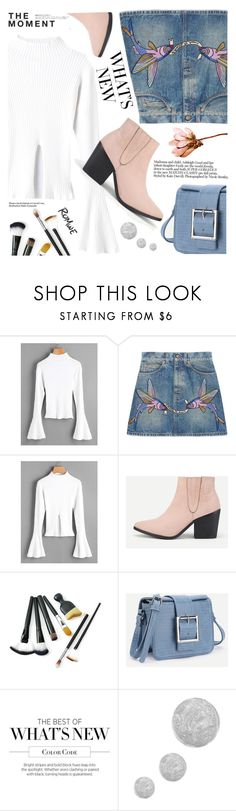 """""""Romwe style"""" by yexyka ❤ liked on Polyvore featuring Hedi Slimane, Gucci and Topshop"""