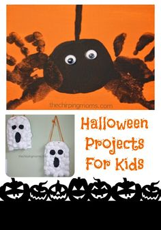 Halloween Projects for the Kids : The Chirping Moms