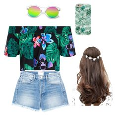 """Summer"" by andreea-minuta on Polyvore featuring New Look, Frame and ASOS"