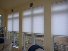 Blinds Blog: Honeycomb (Cellular) Shades
