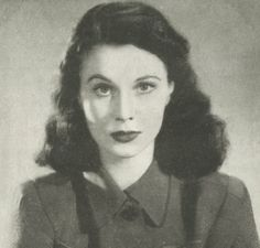 """""""If you're in love with something, it's comparatively easy, but if you're not, then life is more difficult, isn't it?"""" - Vivien Leigh"""