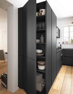 Des meubles astucieux qui décuplent l'espace de rangement | #Cuisine #Armoire #Rangements